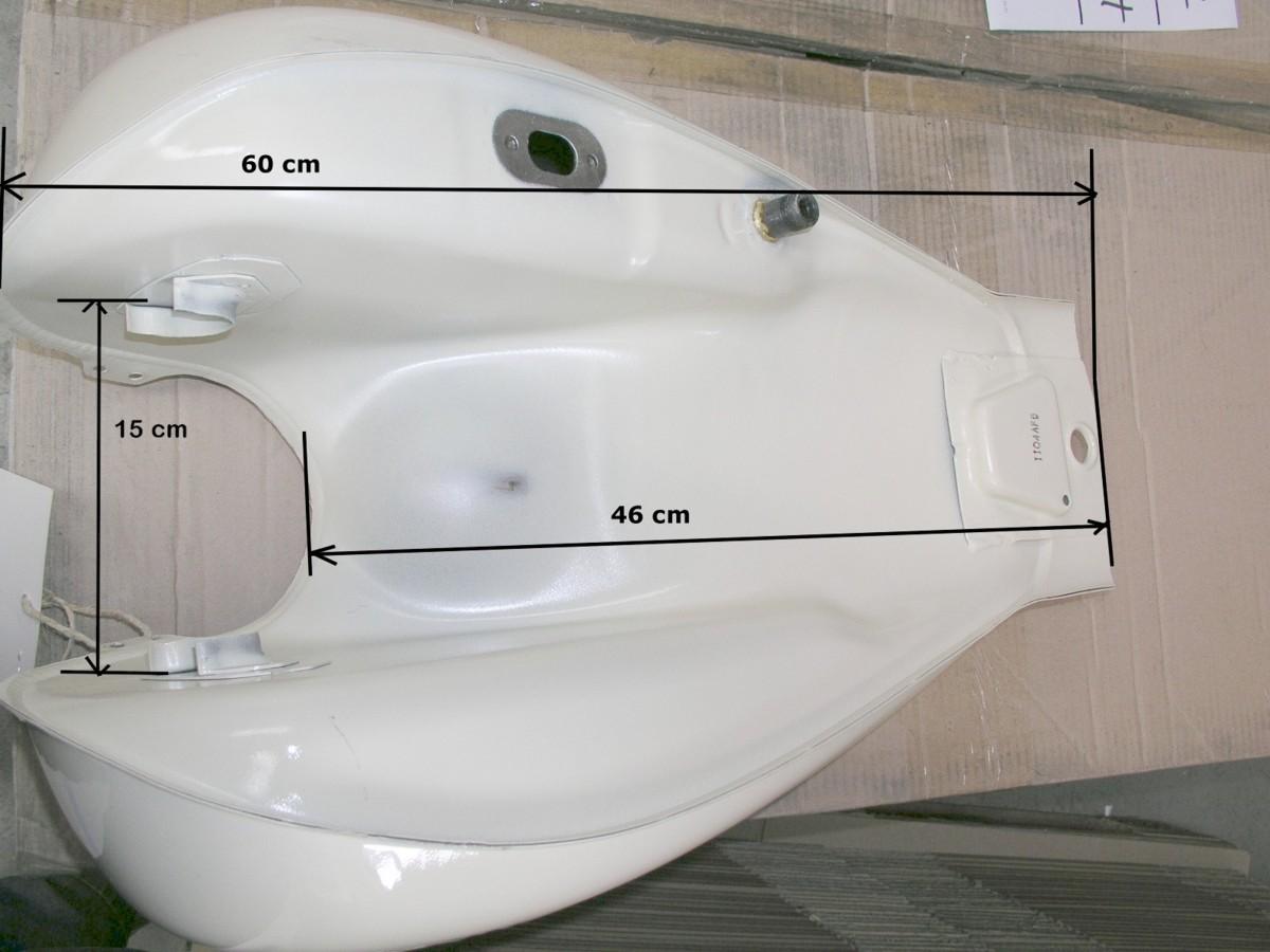 tank benzintank kraftstofftank daelim chopper vt 125. Black Bedroom Furniture Sets. Home Design Ideas