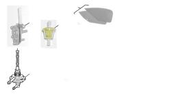 Luftfilter, Benzinhahn, -Filter