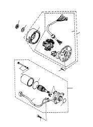 Lichtmaschine, Anlasser