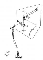 Handbremszylinder