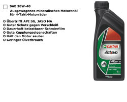 4-T 20W40 mineralisch