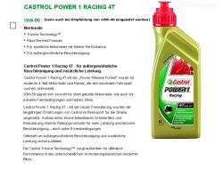 4-T Racing 10W50 vollsynthetisch