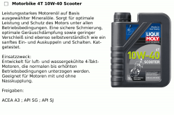 4T 10W-40 Scooter