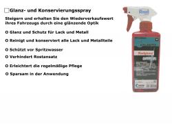 Glanz- / Konservierungsmittel