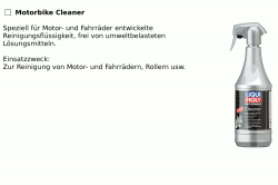 LIQUI MOLY Motorbike Cleaner