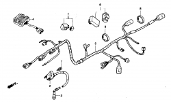 Kabelbaum / Zündspule