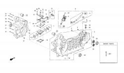 Motorgehäuse / Ölpumpe