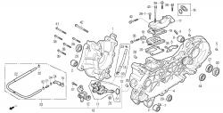 Motorgehäuse, Ölpumpe