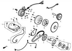 Ölpumpe / Anlasser / Lichtmaschine