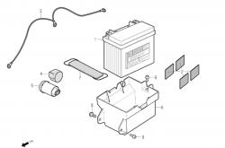 Batterie, Blinkerrelais