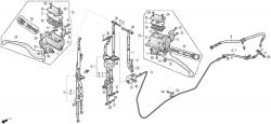 Handbremszylinder, Bremsleitung