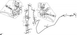 Handbremszylinder, Bremsleitungen