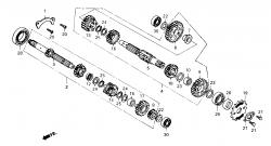 Getriebe bis FgNr.:KMYVT125FKX016217
