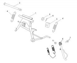 Ständer f. 4-Takt Motor