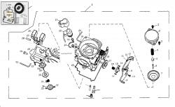 Vergaser m. Kunststoffdeckel