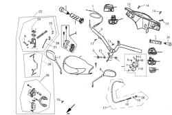 Lenker, Griffe, Züge, Spiegel Bremszylinder f. Fzg. m. Scheibenbremse