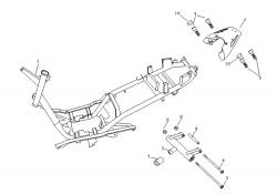 Rahmen, Gepäckträger