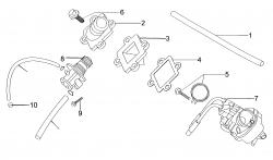 Ölpumpe / Vergaser / Einlaßwelle