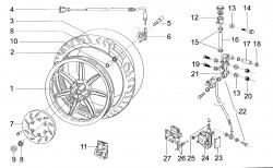 Vorderrad / Bremsanlage vorne