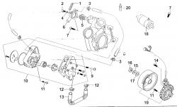 Lichtmaschine / Wasserpumpe / Anlasser