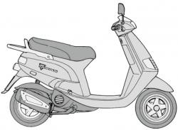 SKR (Skipper) 125 2-Stroke (1993-1997)