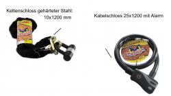 Kettenschlösser / Kabelschlösser