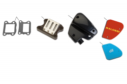 Luftfilter, Ansaugstutzen, Einlasslamelle