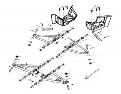 Dreieckslenker / Trittbrett