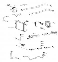 Kühler, Sekundärluftsystem