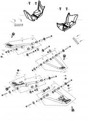 Dreieckslenker, Trittbrett
