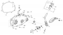 Schaltung / Getriebedeckel