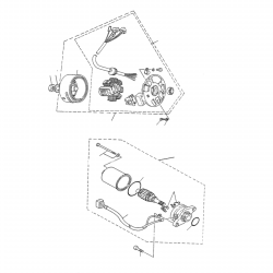 Anlasser / Lichtmaschine