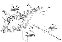 Rahmen / Schwinge