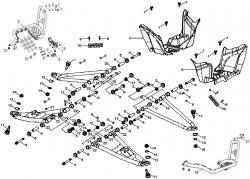 Dreieckslenker / Fußstützen
