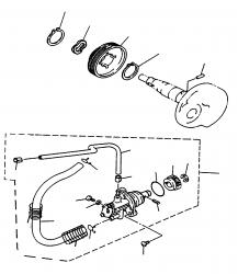 Ölpumpe, -antrieb