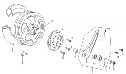 Hinterrad (Scheibenbremse)