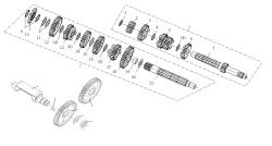 Getriebe, Ausgleichswelle