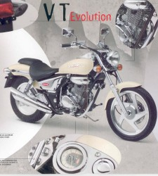 VT 125 Evolution (Bj.`99)