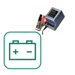 BATTERIES / CHARGER