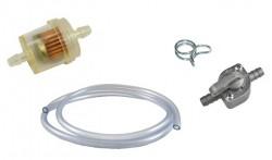 Benzinschläuche, - Filter, - Schellen, - Hahn  (Universal)
