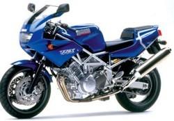 TRX 850 (4UN) Bj. 1996-99