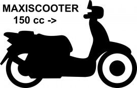 Roller über 150 CC Maxiscooter