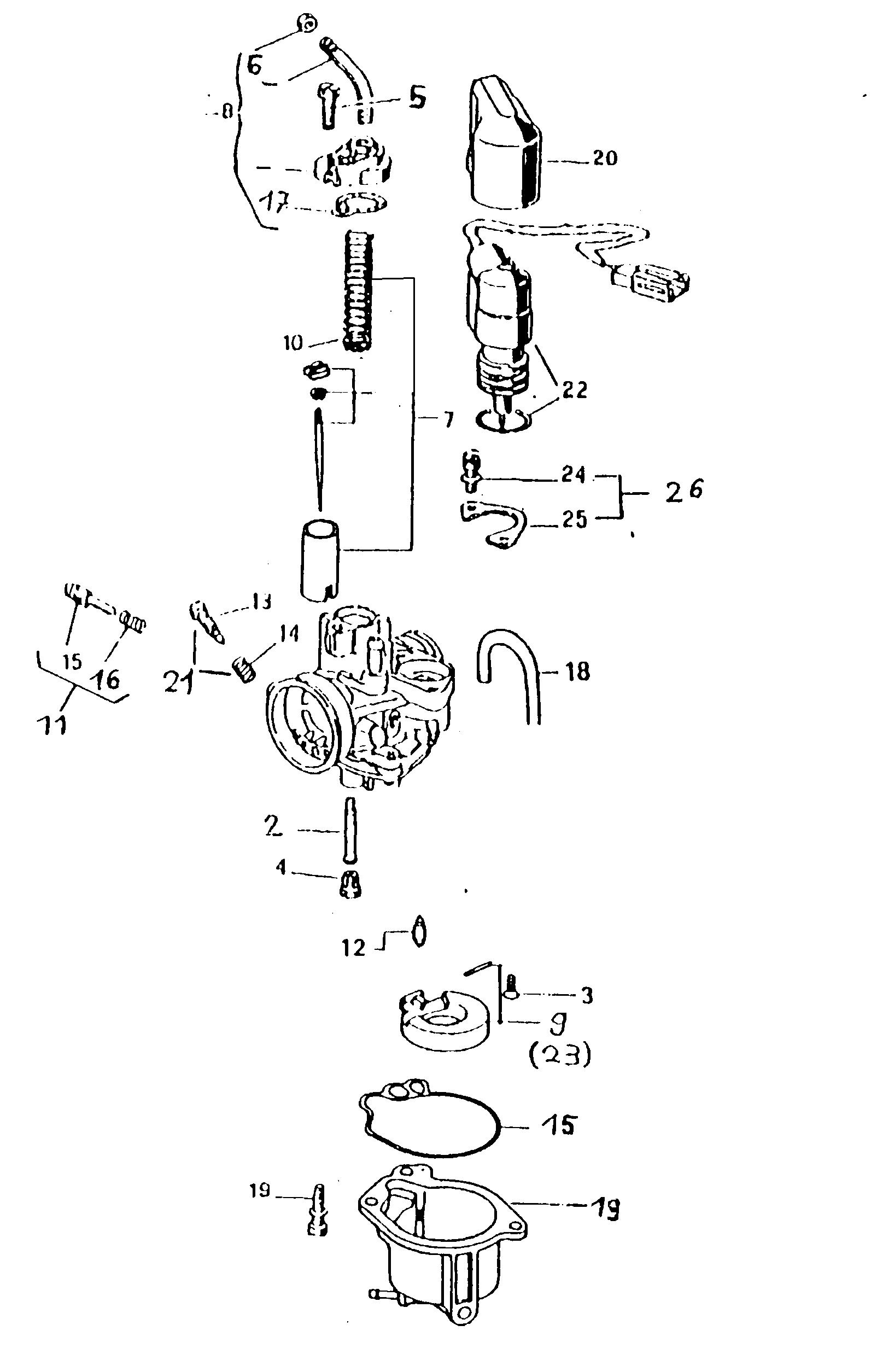 Vergaser (Gurtner PY12)