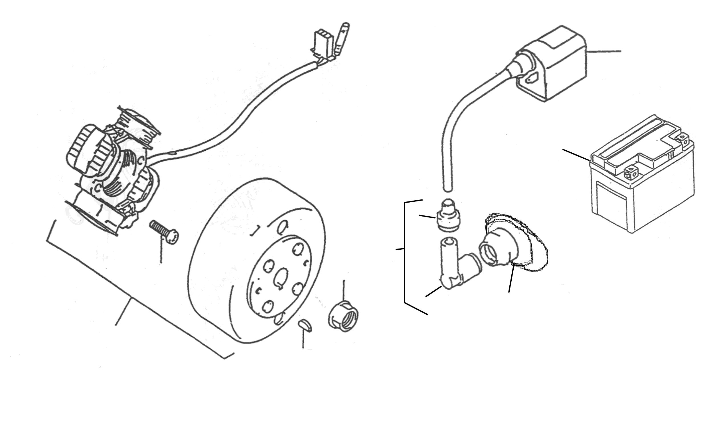 Lichtmaschine, Zündung