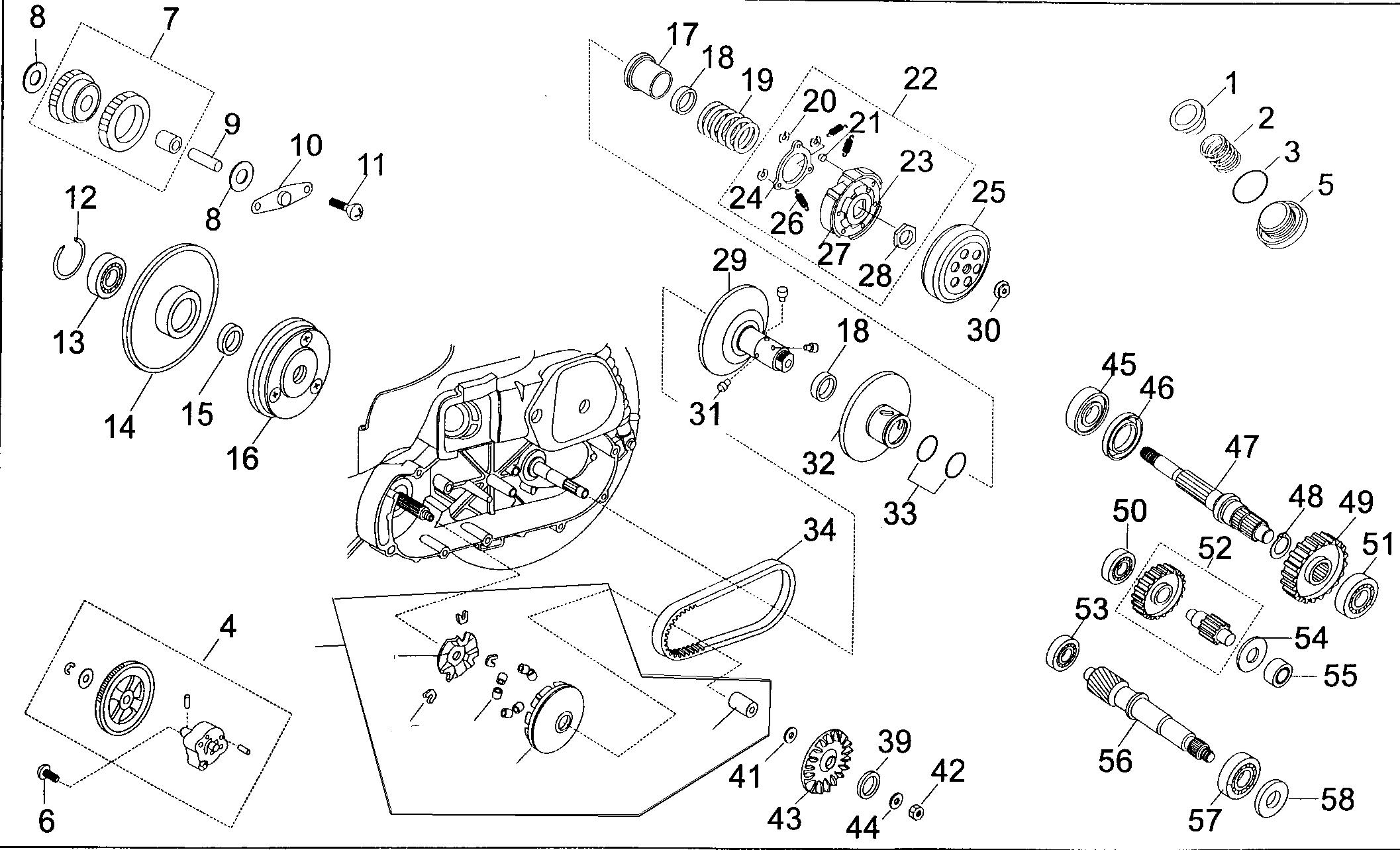 Variator / Getriebe