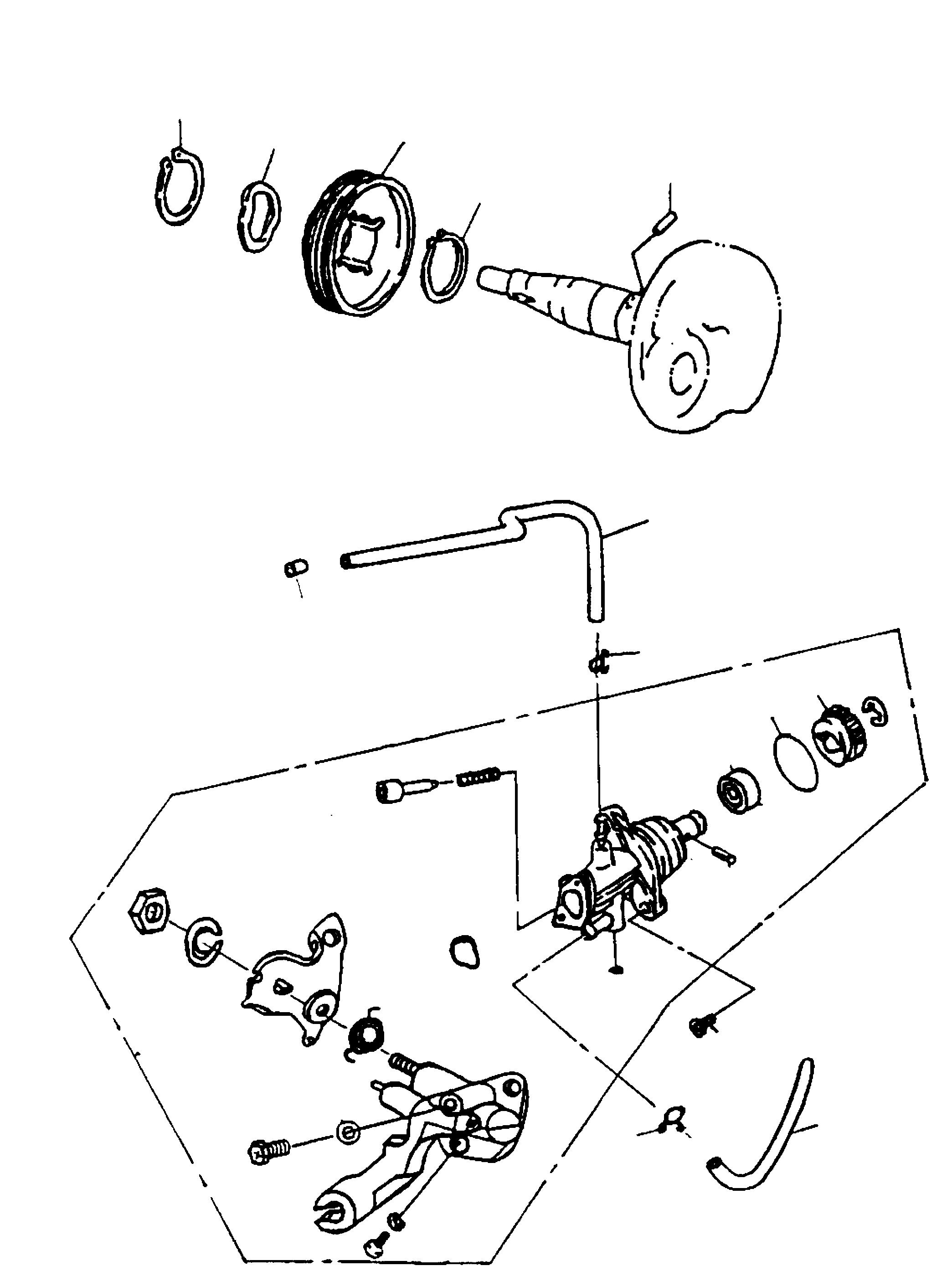 Ölpumpe, Ölpumpenantrieb