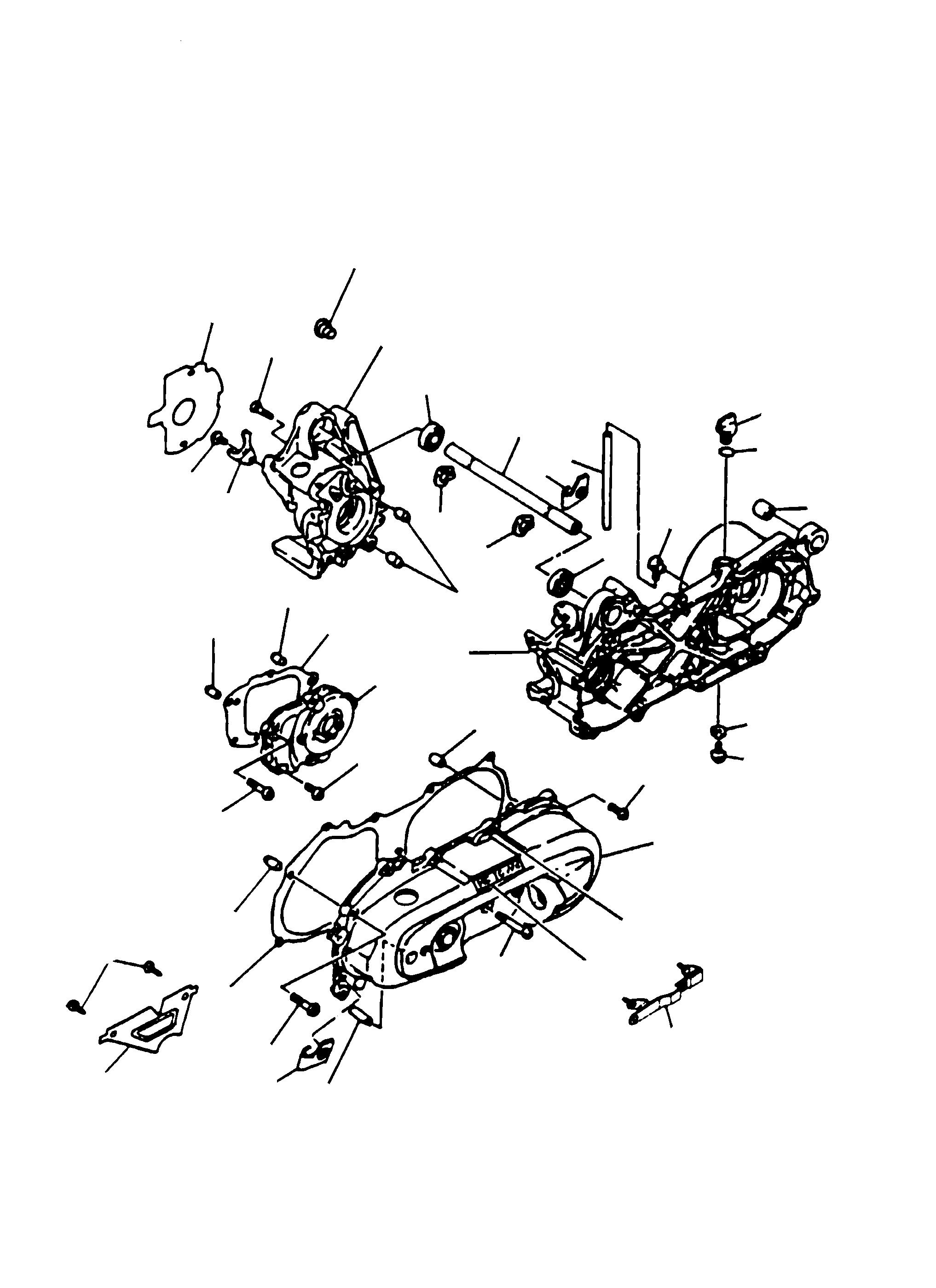 Motorgehäuse, Gehäusedeckel