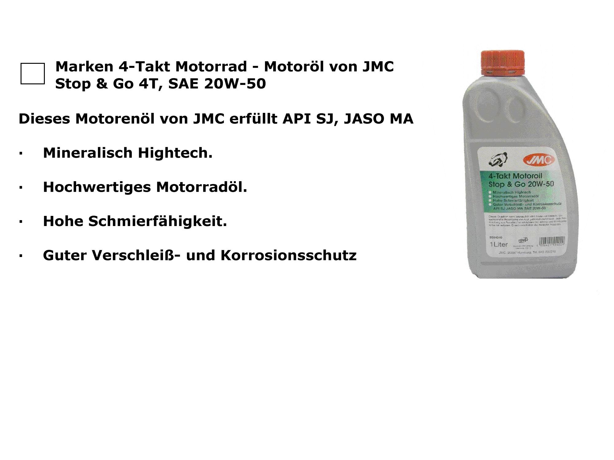 4-T  20W50 mineralisch