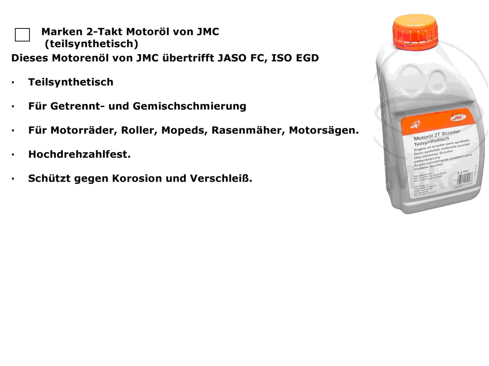 2-Takt Öl teilsynthetisch