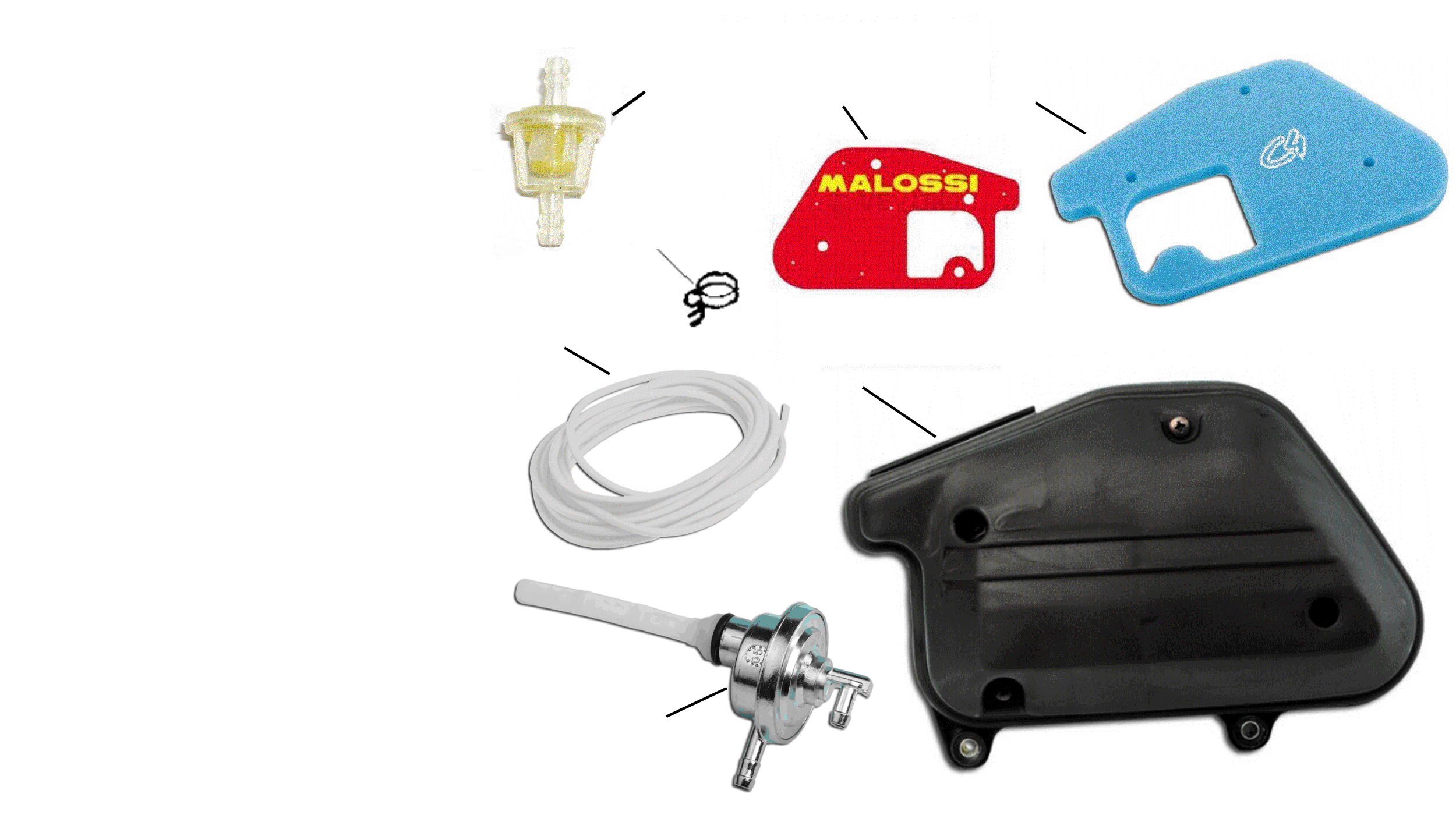 Benzinhahn, Luftfilter